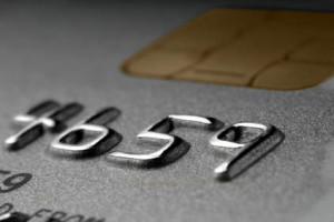 Prepaid Kreditkarte Hochprägung